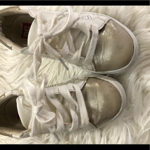 Used little girl sneakers